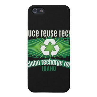 Recycle Idaho Cover For iPhone 5