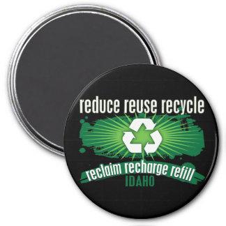Recycle Idaho Refrigerator Magnets