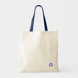 Recycle in Style Totes - Blue Budget Tote Bag
