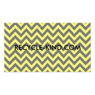 Recycle-Kind Pay it Forward Cards Business Card Template