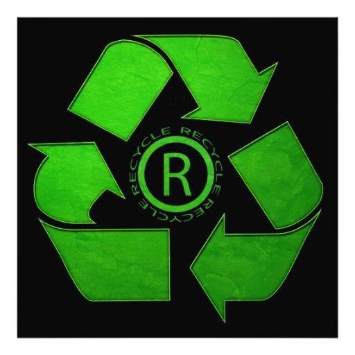 Recycle Logo Photo Art