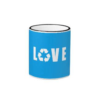 Recycle Love Ringer Mug
