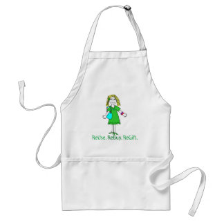 Recycle Message Adult Apron