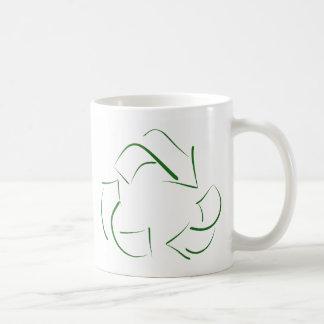 RECYCLE : modern version of the classic image Basic White Mug
