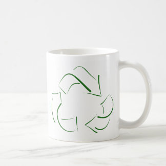 RECYCLE : modern version of the classic image Mug