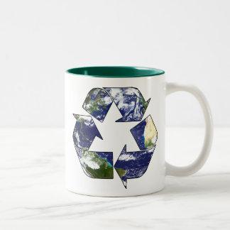 Recycle Now Two-Tone Coffee Mug