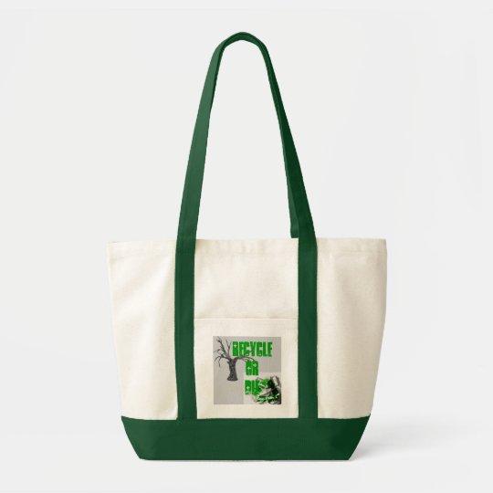Recycle or Die Tote Bag