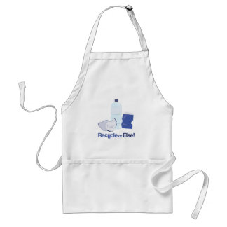 Recycle Or Else Apron