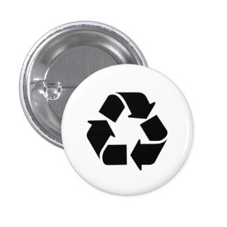 Recycle Pictogram Button