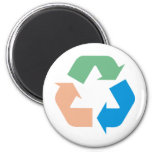 Recycle Products & Designs! Refrigerator Magnet