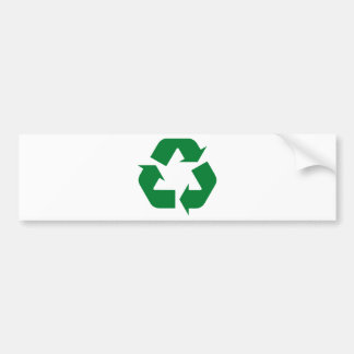 Recycle Products & Ecology Designs! Bumper Stickers