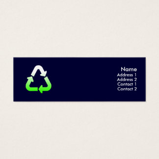 Recycle Profile Card