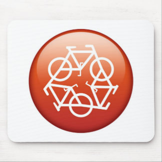 Recycle Red Mousepad