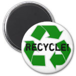 Recycle! Refrigerator Magnet