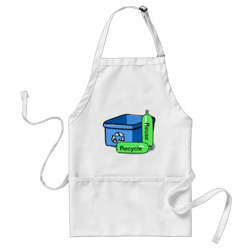 Recycle Reuse Aprons