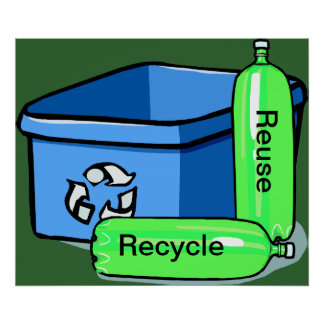 Recycle Reuse Posters