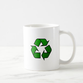 Recycle Reuse Symbol - Save The Planet Mugs