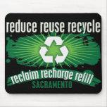Recycle Sacramento Mousepad
