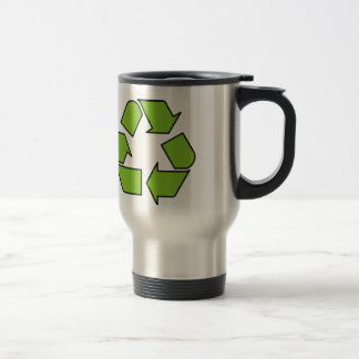 RECYCLE SIGN - Green Belt recycle symbol Mugs
