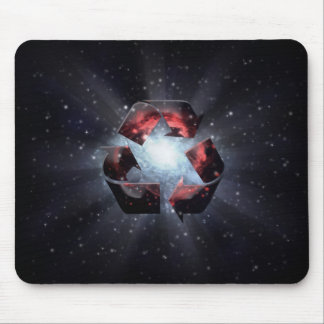 Recycle (space) mouse mat