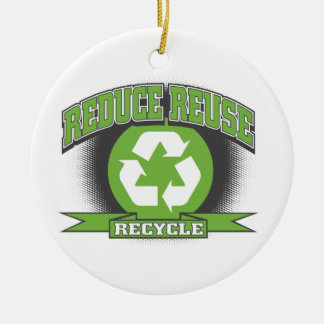 Recycle Sport Style Christmas Ornament