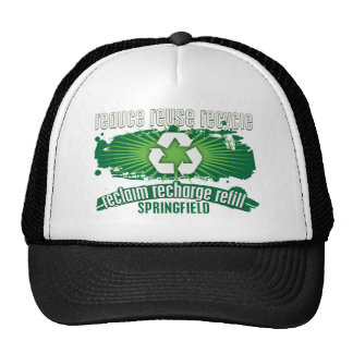 Recycle Springfield Cap