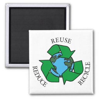 Recycle Square Magnet
