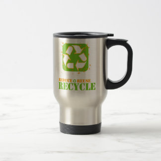 recycle stainless steel travel mug
