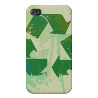 Recycle Symbol iPhone 4/4S Covers