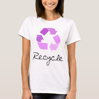 Recycle symbol! lilac design! T-Shirt