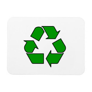 Recycle Symbol Flexible Magnet