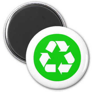Recycle Symbol - Reduce Reuse Recycle Refrigerator Magnets