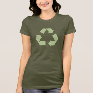 Recycle Symbol T-Shirt Available with Long Sleeves