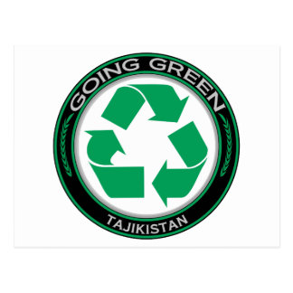 Recycle Tajikistan Postcard