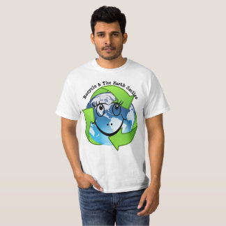 Recycle & The Earth Smiles Tee