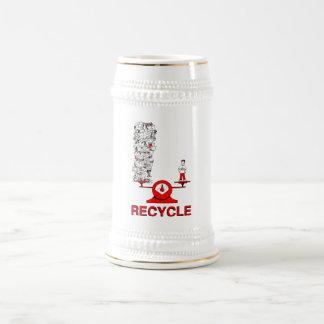 Recycle Trash Mug