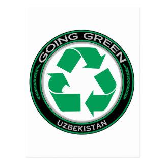 Recycle Uzbekistan Postcard