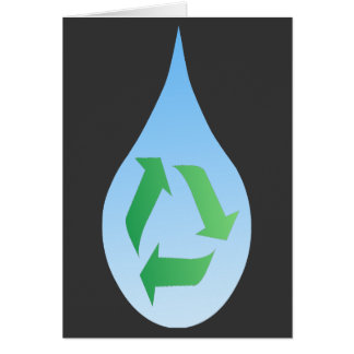 Recycle Water Card