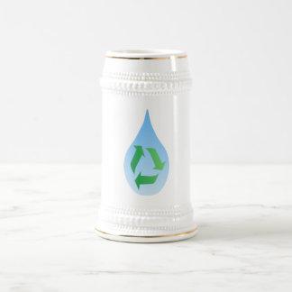 Recycle Water Stein Mug