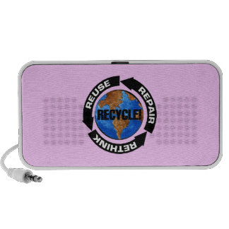 Recycle World Travelling Speakers