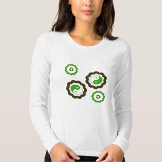 Recycle Yin Yang T-shirts