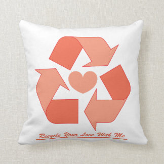 Recycle Cushions - Recycle Scatter Cushions Zazzle.co.uk