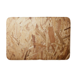 Recycled Compressed Wood Texture For Background Bath Mat