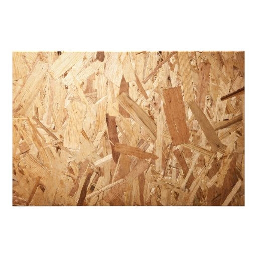 Recycled Compressed Wood Texture For Background Photo Print