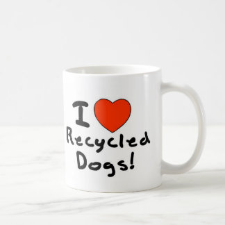 Recycled Dog Coffee Mug