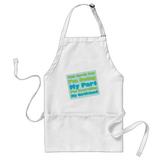 Recycled Girlfriend Adult Apron