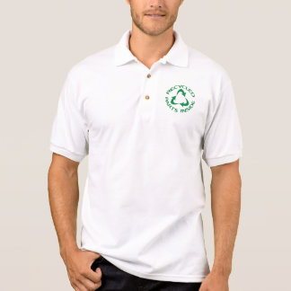 Recycled Parts Inside Polo T-shirt