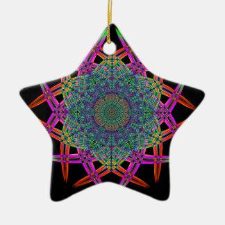 Recycled Smoke Art  (1) Ceramic Star Decoration
