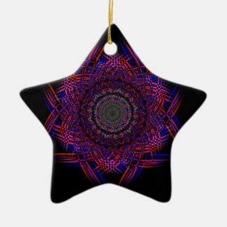 Recycled Smoke Art  (4) Ceramic Star Decoration