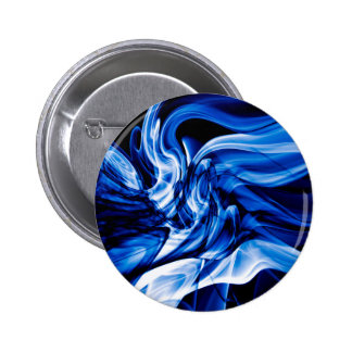 Recycled Smoke Art Design 6 Cm Round Badge